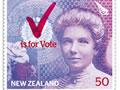 NZ Women's vote stamp