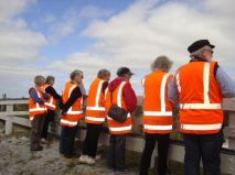 Very visible members of the Local History group