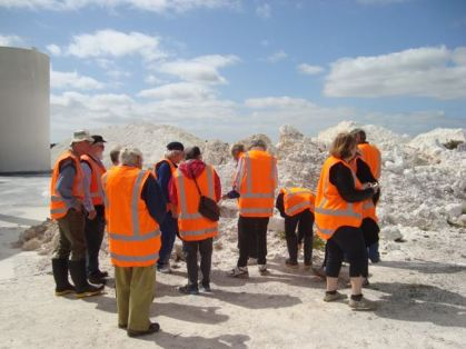A visit to the china clay works near Kerikeri