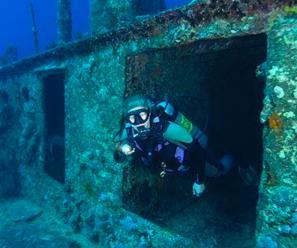 Shipwreck near Dubai